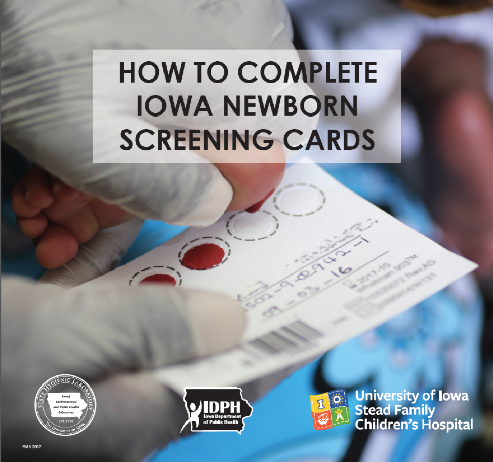 newborn bloodspot screening test All newborn babies in western australia undergo a blood screening test for  serious genetic conditions in the first few days of their life, which is provided free  of.