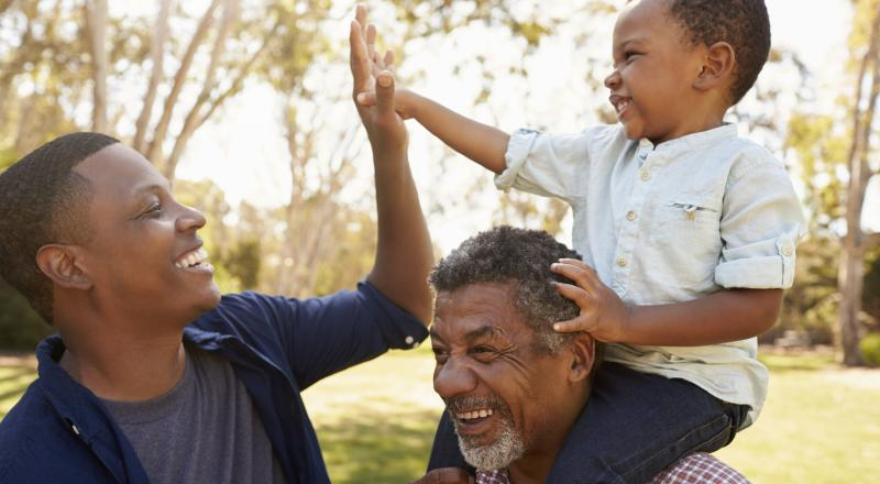 older fathers have smarter sons